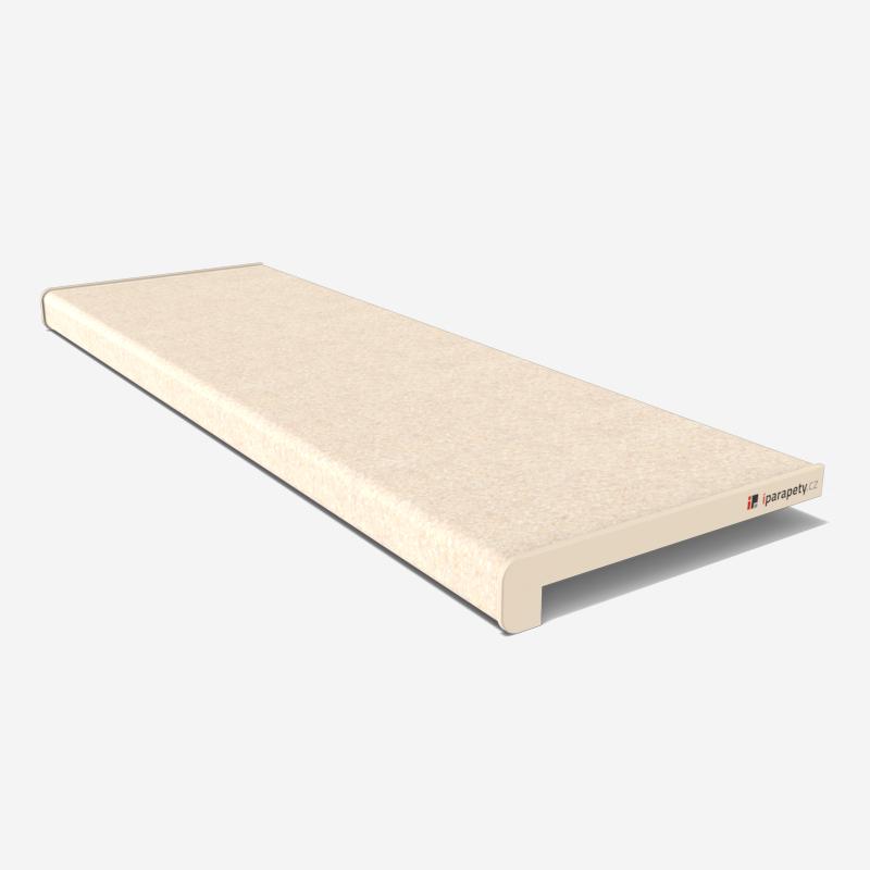 Vnitřní parapet dřevotřískový 150 mm, nos 40 mm, Kraket