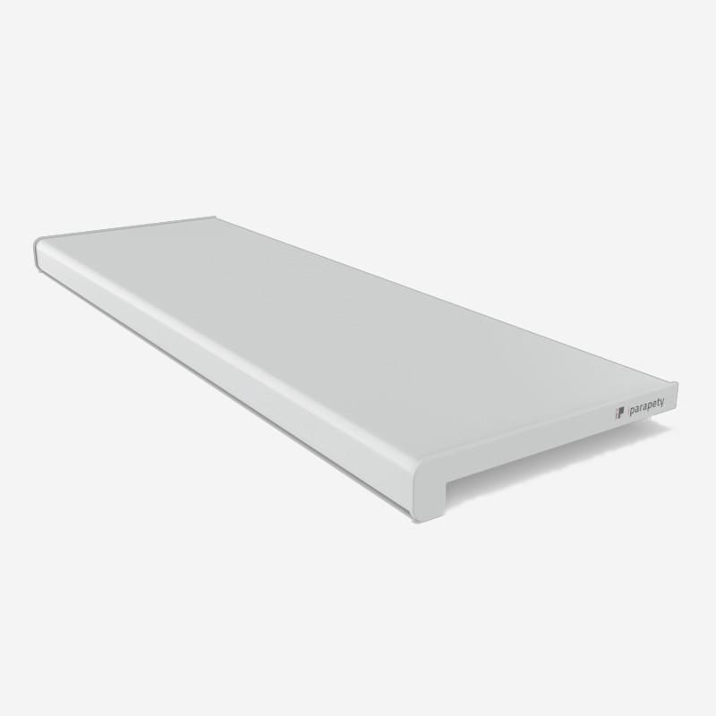 Vnitřní parapet dřevotřískový 150 mm, nos 40 mm, Šedý